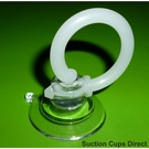 Halogen light bulb suction cup removal tool