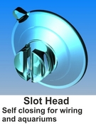 suction cups with slot head-www.suctioncupsdirect.co.uk