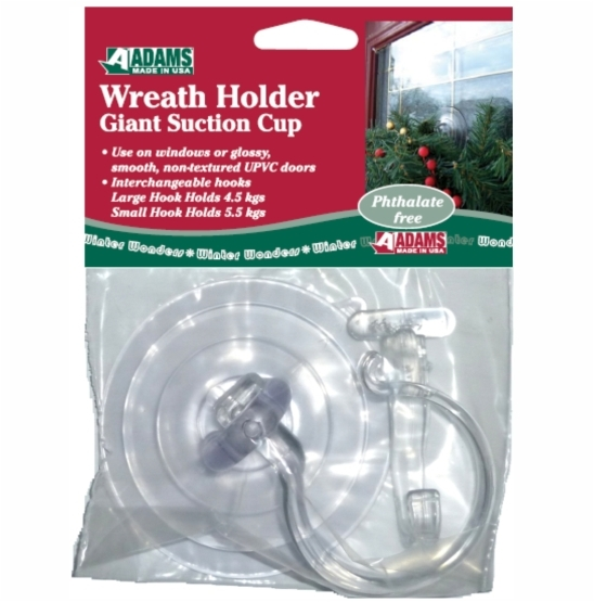 Suction Cup Wreath Hook For Windows Suction Cups Direct