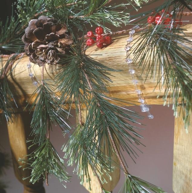 Bulk Christmas Garland.Garland Ties For Banisters 100 Bulk Pack
