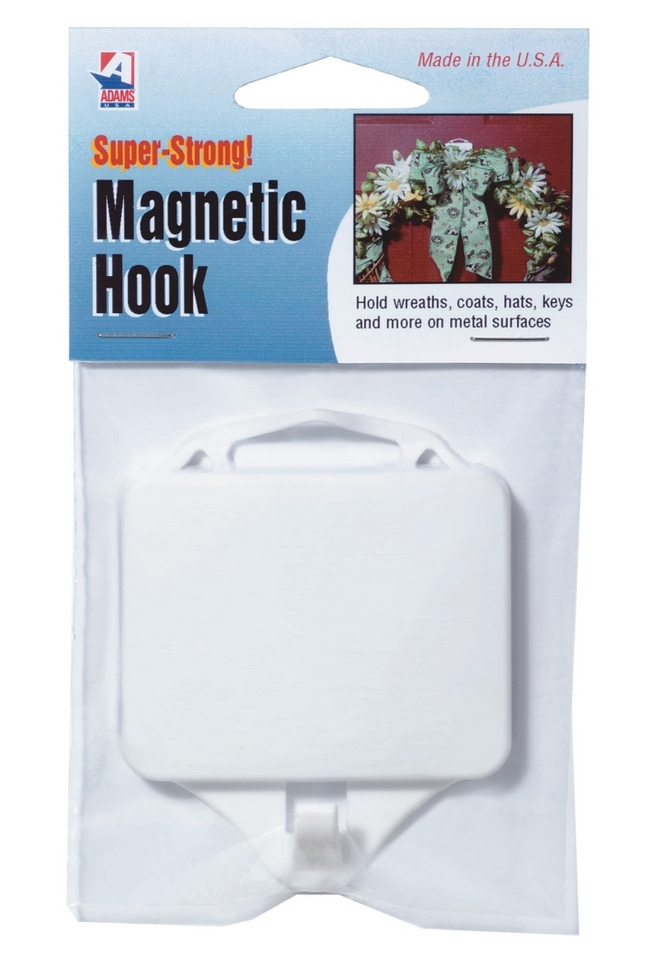 Magnetic Door Hook. Magnetic Wreath Holder. Magnetic Coat Hook.