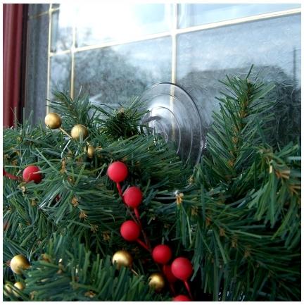Wreath Hanger For A Upvc Door Suction Cups Direct