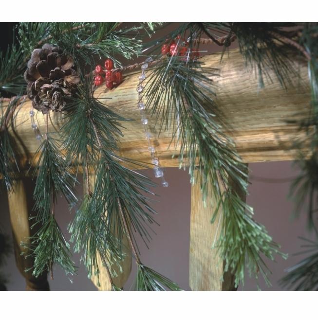 Bulk Christmas Garland.Bulk Clear Cable Ties Christmas Garland Ties 1000 Pack