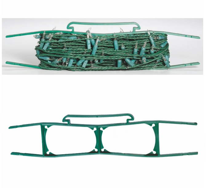 String Lights Storage : Christmas Light Storage Wind Ups. Suction Cups Direct.