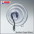 Suction Cups with Hooks. 47mm x 2 sample pack