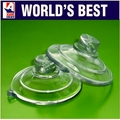 Suction Cups with Side Hole of 4.5mm Diameter. 47mm x 2 sample pack