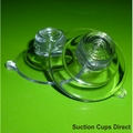 Suction Cups with Top Pilot Hole. 32mm x 2 sample pack