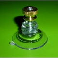 Suction Cups with Screw Stud and Thumb Turn Brass Nut. 32mm x 4 pack
