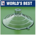 Large Suction Cups with Top Pilot Hole. 64mm x 100 pack