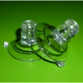 Suction Cups with Long Neck. 32mm x 4 pack.
