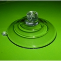 Suction Cups with Side Pilot Hole. 4.5mm Hole. 64mm x 100 pack