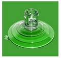 Suction Cups with Top Pilot and Side Pilot Hole. 85mm x 2 pack