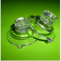Suction Cups with Side Pilot Hole. 32mm x 4 pack