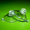 Suction Cups with Mushroom Head and Thick Neck. 22mm x 50 pack