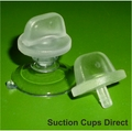 Suction Cup with Large Thumb Tack. 22mm x 10 pack.