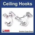 Ceiling Hooks for Suspended Ceilings. 10 pack.