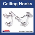 Suspended Ceiling Hooks. Heavy Duty Ceiling Hangers. Sample pack of 2.