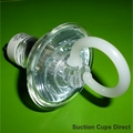 Suction Cups with Finger Loop for Halogen Light Removal. 32mm x 50 pack