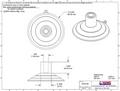 Bulk Adams Giant Suction Cups. Large Top Pilot Hole. 85mm x 50 bulk box