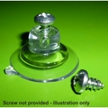 Suction Cups withTop Pilot Hole. 32mm x 250 pack