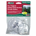 Original Adams Suction Wreath Hanger for UPVC Doors and Windows with 2 Hooks.
