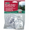 Christmas Suction Cup Wreath Hook for Windows or UPVC Doors. 4 x Suction Cup Pack