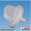 Suction Cups for Window Posters. Large Thumb Tack. 22mm x 50 pack.