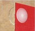 Suction Cups for Thin Posters with Flat Barbed Thumb Tacks. 22mm x 50 pack