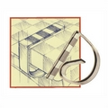 Clear Tablecloth Clips. 10 pack