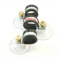 Suction Cups with Stud Screw and Knurled Brass Nut. 47mm x 100 pack