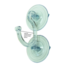 Giant Pro-Grade Heavy Duty Double Suction Hook. 85mm diameter cups. Holds 9kgs.