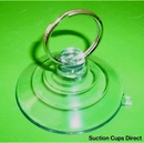 Suction Cups with Keyrings. 64mm Suction Cup x 4 pack.