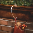 Safety Grip Stocking Hangers. Stocking Hooks for Mantels.