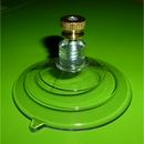 Suction Cups with Stud Screw and Brass Nut. 64mm x 4 pack