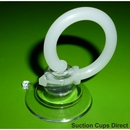 Suction cup with finger loop.