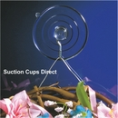 Large suction cups with hooks. 64mm diameter. Holds 3.2kgs.