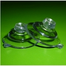 Small Suction Cups with Mushroom Head. 32mm x 4 pack