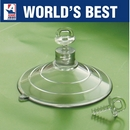 Large Suction Cups with Clear Thumb Screws. 64mm x 2 sample pack