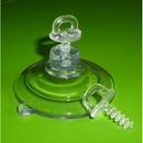 Suction cups with thumb screw. 47mm