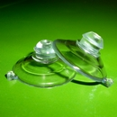 Suction cups with mushroom head. 22mm - thick neck