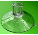 Heavy Duty Suction Cup. Large Top Pilot Hole. 85mm diameter. Sample pack of 1.