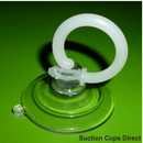 Suction cups with finger loop for phones, tablet and laptop screens. 47mm