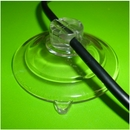 Suction Cups for Wires with Slot Head. 47mm x 100 pack.