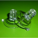 Suction cups with top pilot hole. 32mm - long neck