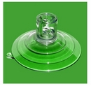 Suction Cup with Top Pilot Hole and Side Pilot Hole. Heavy Duty Suction Cup. 85mm. Sample pack of 1.